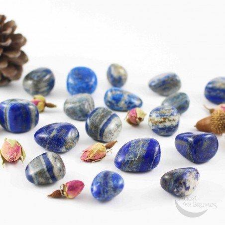 Lapis-lazuli pierres roulées