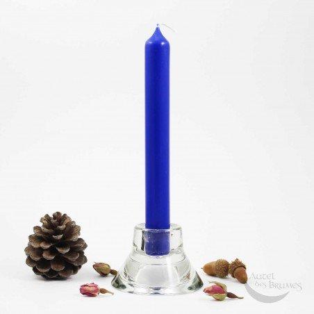Bougie bleue