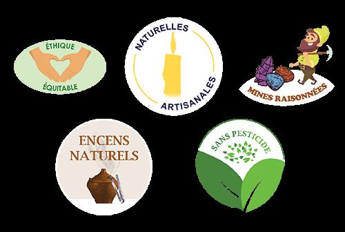 Labels Autel des Brumes